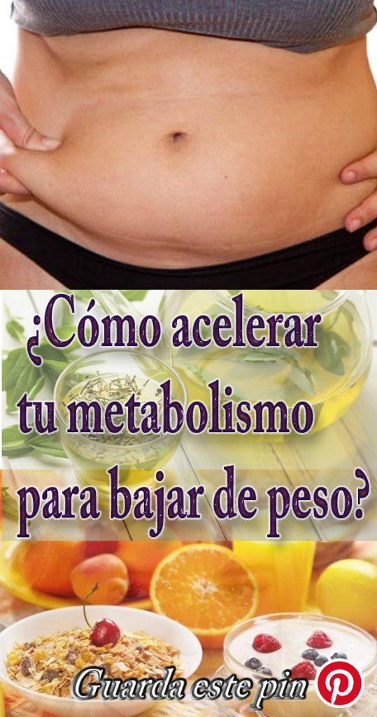 Mejor medicina para aceleradores de metabolismo